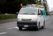 Spark says its customers might be waiting up to two weeks for a Chorus technician to fix faults in the copper network caused by the wet weather. Photo / NZME