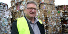 Wanganui district councillor Rob Vinsen at the Wanganui Resource Recovery Centre in Maria Place. Tuesday, 11 August 2015 Wanganui Chronicle photograph by Bevan Conley. WGP 19Dec15 - DETERMINE