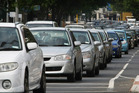 Twenty six per cent of Aucklanders surveyed have experienced a road rage incident, as a consequence of living in a city renowned for its traffic woes. Photo / Greg Bowker