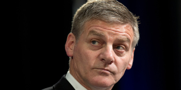 The bill had the numbers to pass into law, but no vote was held because Finance Minister Bill English had already said he would exercise a financial veto. Photo / Mark Mitchell