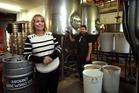Mount Brewing Co (Newton Street, Mount Maunganui) owners, Glenn and Virginia. Photo/John Borren