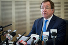 Foreign Minister Murray McCully said yesterday that on June 9 he signed a document that waived immunity for the diplomat, which allowed local police to interview the man. Photo / Sarah Ivey