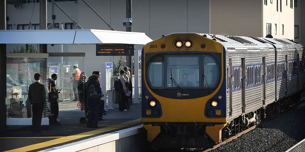 Some train services in Onehunga have been cancelled.