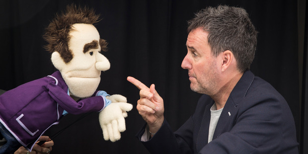 Loading I like the muppet Hosking (left). I like the way he wobbles his head. Photo / Jason Oxenham