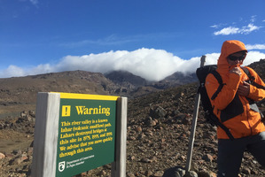 The rough, eastern slopes of Mt Ruapehu, near Whangaehu River. Photo / Supplied