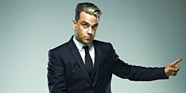 Robbie Williams's sexual history is evidently quite the long list. Photo / supplied