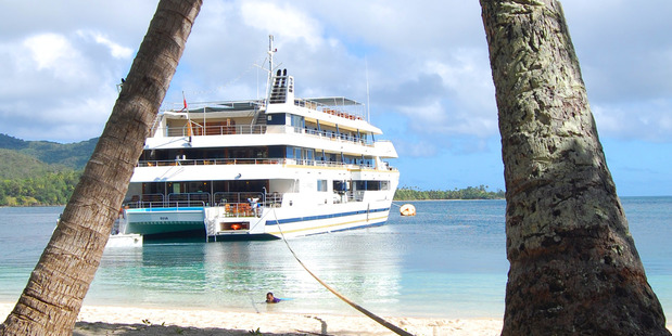 The Yasawas take two hours to reach by fast ferry from Viti Levu.