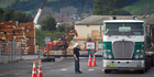 Operations at the Lumbercube timber mill site on Vaughan Rd have ceased. Photo / Stephen Parker