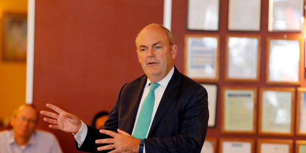 Steven Joyce appears before a select committee in Wellington today to discuss funding for science and innovation.