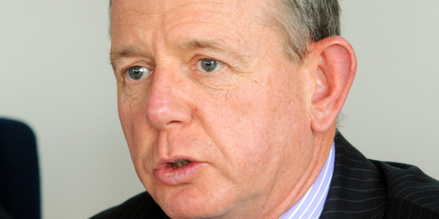 "John Shewan says he is  ""dismayed"" at Andrew Little's latest comments and will not rule out further action. Photo / File"