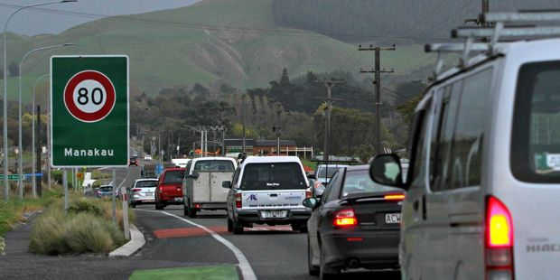 A pair of National Party bigwigs - an MP and a knight - are dead keen on renaming State Highway 1. Photo / Cherie Taylor