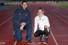 Father and daughter Dean and Georgia Hulls have been laboriously working through grey patches to ensure the coach-athlete relationship blossoms on the athletics track. Photo / Duncan Brown