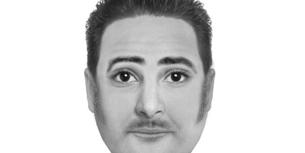Hawke's Bay police have released a sketch of a Indian man they wish to speak to about a sexual assault at Park Island on June 19. Photo/Supplied.