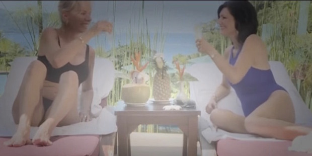 An image from Beauty and the Beach, TV One's new show about plastic surgery holidays.