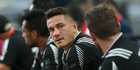 Sonny Bill Williams of New Zealand looks on during the HSBC Singapore Sevens. Photo / Getty Images.