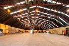 An internal view of the big Otahuhu office and warehouse property at 198 James Fletcher Drive.