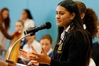 Justice Hetaraka head girl at Whangarei Girls' High School, came up with the idea of creating a non-religious based school karakia called  Te Timatanga  to normalise Maori culture at the school.