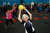 INSPIRING: Jean Charlesworth is nearly 90 and loves her weekly gym workout. PHOTO/MICHAEL CUNNINGHAM