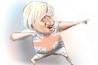 PRINCE BORIS: A hit! A palpable hit! Illustration / Rod Emmerson
