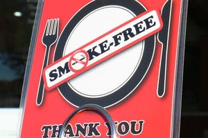 Eight Wairarapa cafes are now advocating for smokefree dining  after  a Compass Health initiative. Photo / Hayley Gastmeier