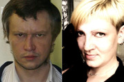 Serial killer Alexander Pichushkin and Natalya, the woman who fell in love with him. Photo / AP