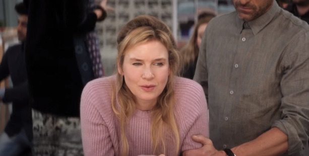 Renee Zellweger reprises her role as Bridget Jones.