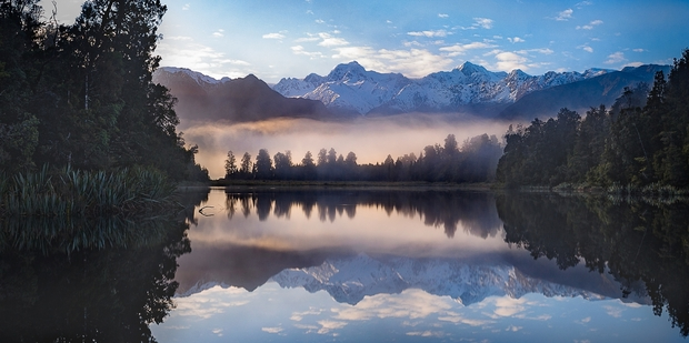This landscape Wait for it by Kerikeri photographer Chris Pegman recently picked up two gold and one bronze medal in three different photography awards. It was taken at Lake Matheson in South-Westland looking towards Aoraki/Mt Cook.