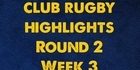 Watch: Baywide club rugby highlights: Round 2 Week 3