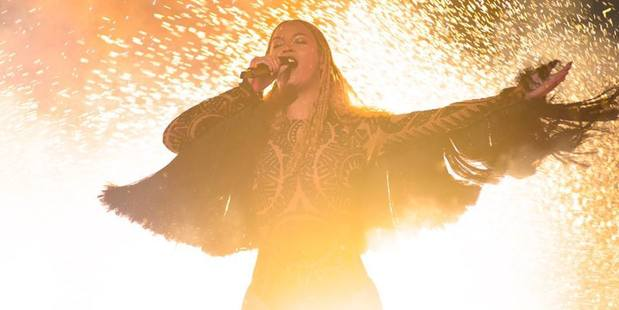 Beyonce made a surprise performance at the BET Awards in Los Angeles.