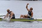 Hamish Bond and Eric Murray are on a remarkable winning streak. Photo / Brett Phibbs