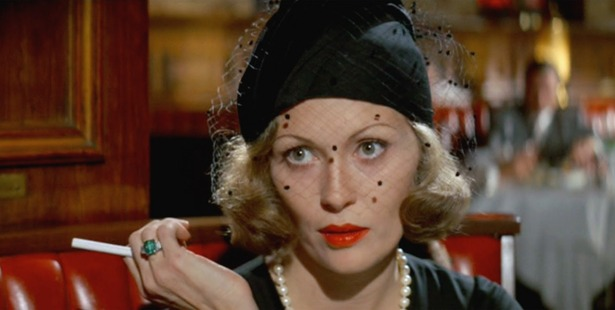 Faye Dunaway, shown here in Chinatown, won an Oscar for her role in Network.