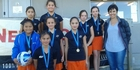 CANNONS FIRE: The Coastal Homes Cannons netball team representing Mangonui came first in the Year 6 division at the New World Kerikeri Netball Tournament in Kerikeri on Sunday, June 19.