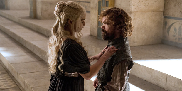Dany named Tyrion hand of the Queen.