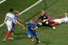 Footage courtesy of Sky Sports.