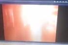 Source: Twitter/Mahir Zeynalov  Journalist Mahir Zeynalov has revealed this footage purporting to be CCTV from inside Istanbul's Ataturk airport as the explosion happened.