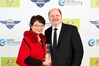 Maggie and Brett Bargh from Streamland Honey Plant, winner of the YOU Travel Emerging Exporter of the Year Award at the Bay of Plenty ExportNZ Awards 2016.