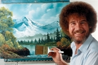 Bob Ross's gentle, encouraging commentary in Bob Ross: Beauty is Everywhere will having you feeling groovy in no time. And dig that 'fro ... Photo / Supplied