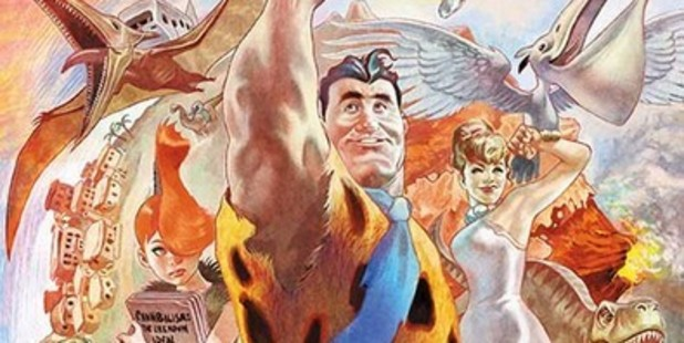 The Flintstones are making a comeback with a whole new look. Photo / DC Comics