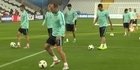 Watch: Watch: Croatia and Portugal prepare for Euro 2016 football match
