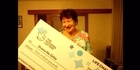 Watch: Great-grandmother wins $1.9 million