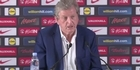 Watch: Watch: England manager Roy Hodgson reluctantly faces media following resignation