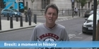 Watch: Mike's Minute: Brexit - a moment in history