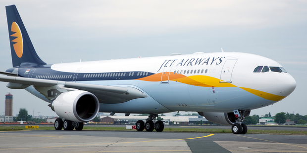 The incident allegedly occurred on a  Jet Airways flight to Mumbai. Photo / iStock