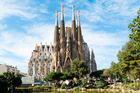 Barcelona's famous unfinished cathedral is a tourism hotspot that could eventually feel the physical impact of the increase in visitors to the city caused by Airbnb. Photo / iStock