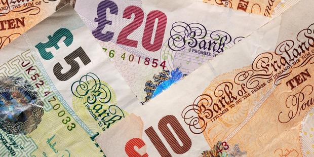Britain's vote to leave the EU sent the pound crashing around 12 per cent against the US dollar to a 31-year low. Photo / iStock