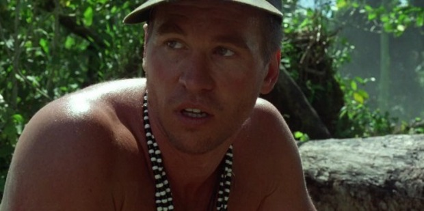 Val Kilmer in the rather forgettable, The Island of Dr Moreau.