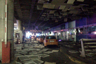 An entrance of the Ataturk Airport in Istanbul after the explosions. Photo / AP