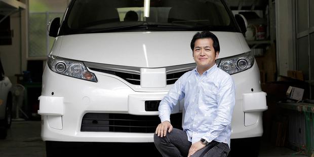ZMP founder and CEO Hisashi Taniguchi. Photo / Kiyoshi Ota