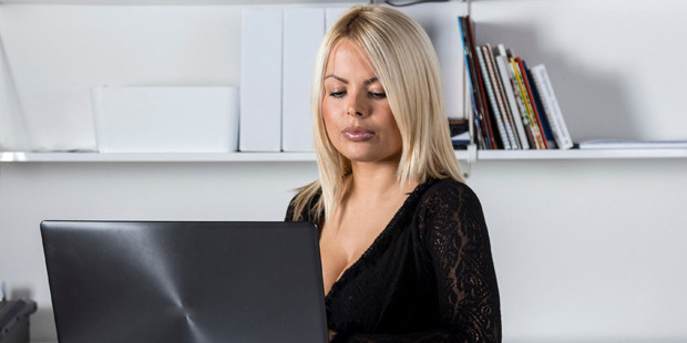 Forget slaving over your CV, a disturbing new study says you may have better luck getting a job if you wear a low cut top. Photo / iStock