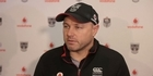 Watch: Watch: Warriors coach Andrew McFadden on Simon Mannering